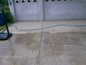 Pressure washing tampa bay for Best way to clean concrete driveway without pressure washer