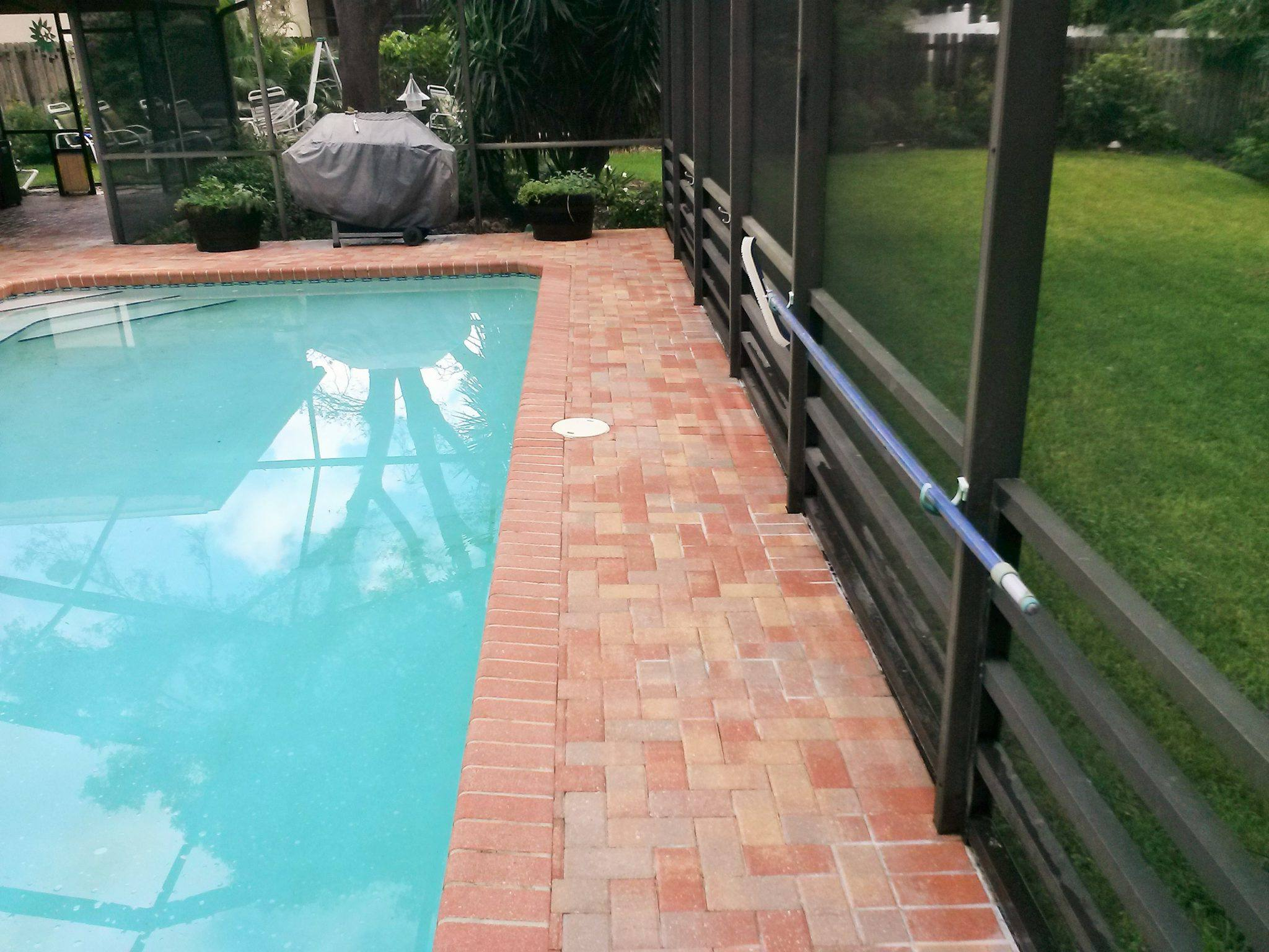 Pressure washing new port richey for Pressure clean pools