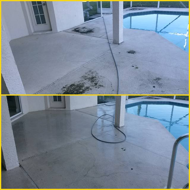 Pressure washing westchase for Pressure clean pools