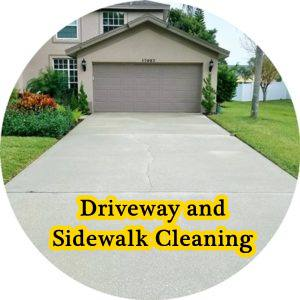 Pressure washing service located in palm harbor florida for Driveway cleaning companies