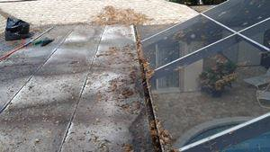 gutter cleaning Odessa-before