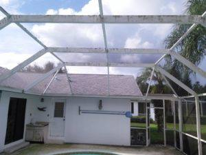 low pressure cleaning, pool enclosure Carrollwood fl