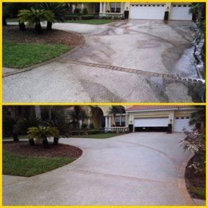 driveway- pressure cleaning- oldsmar fl