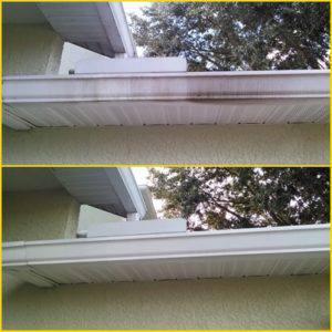 exterior gutter cleaning odessa
