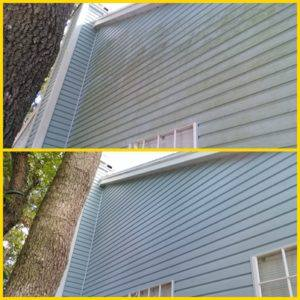 vinyl siding low pressure washing palm harbor
