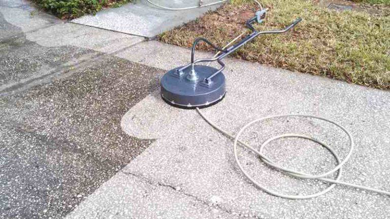 Pressure washing service located in palm harbor florida for Pressure washer driveway cleaner
