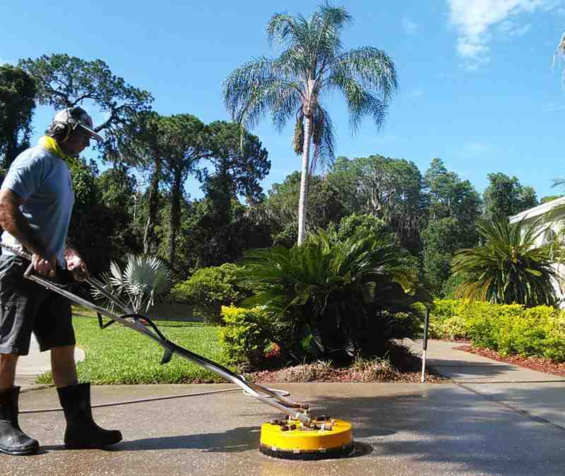 Pressure Washing Palm Harbor Driveways Plus Exterior