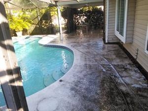 Dirty pool deck-Clearwater